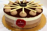 Chocolate Trio slice - Cavallaros