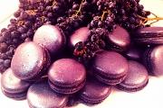 Blackcurrant Macarons - Cavallaros