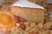Orange and Cardamom slice - Cavallaros