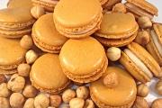 Salted Caramel Macarons - Cavallaros