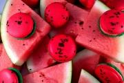 Watermelon Macarons - Cavallaros