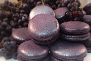 Black Currant Macarons - Cavallaros