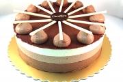 Chocolate Trio Cake - Cavallaros