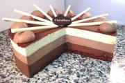 Chocolate Trio Cut - Cavallaros